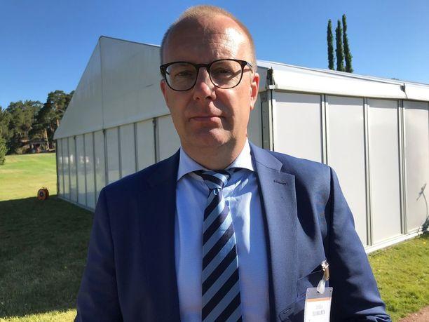 SAK:n puheenjohtaja Jarkko Eloranta. KUVA: HANNA GRÅSTEN/IL.