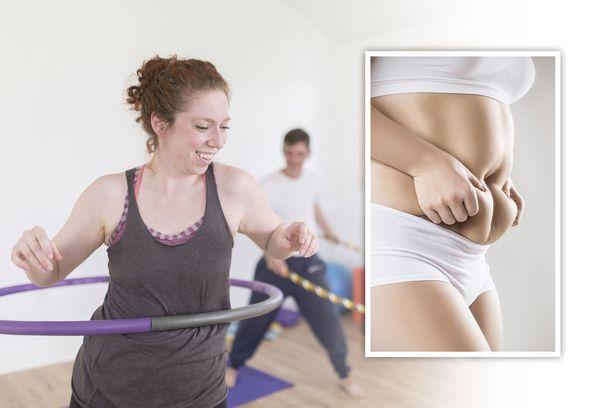Hulavannepyörittely sulattaa tehokkaasti vatsarasvaa ja kiinteyttää lihaksia.