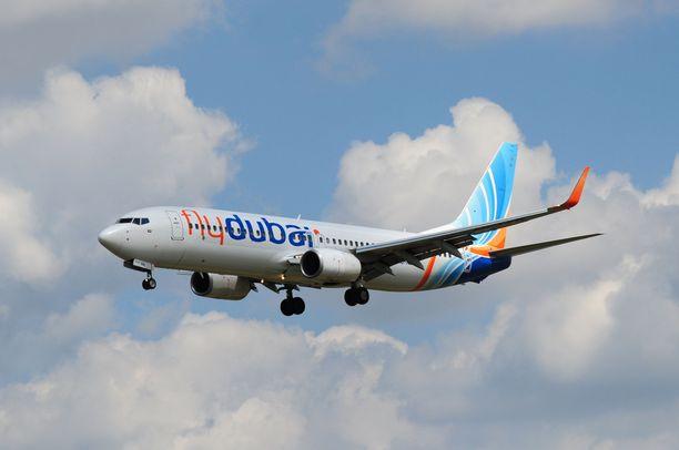 Flydubai-lentoyhtiö pyysi Darren Bellingin kohtelua anteeksi.