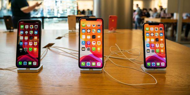 Iphone 11 on Applen tämän hetken lippulaivamalli.