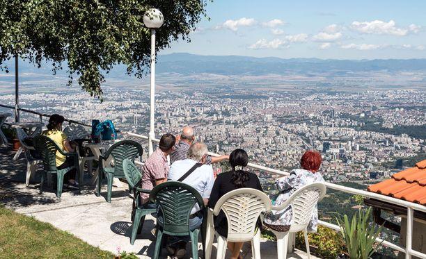 Bulgariassa voi myös kaupunkilomailla. Sofia on kiehtova suurkaupunki.