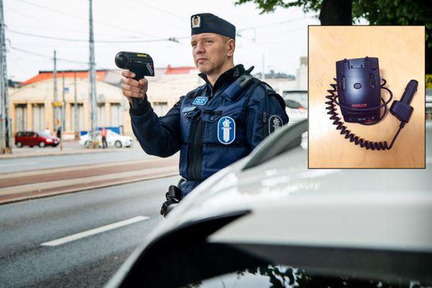 Tutkanpaljastimen käyttö on Suomessa laitonta.