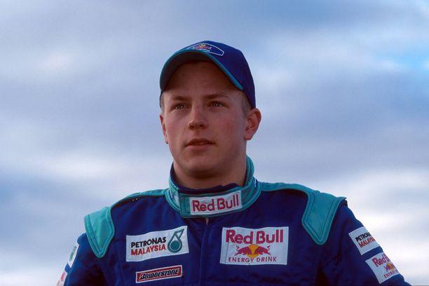 Kimi Räikkönen debytoi F1-sarjassa 21-vuotiaana maaliskuussa 2001.