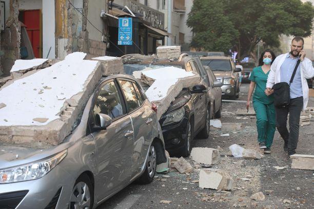 Räjähdys aiheutti laajaa tuhoa kilometrien säteellä.