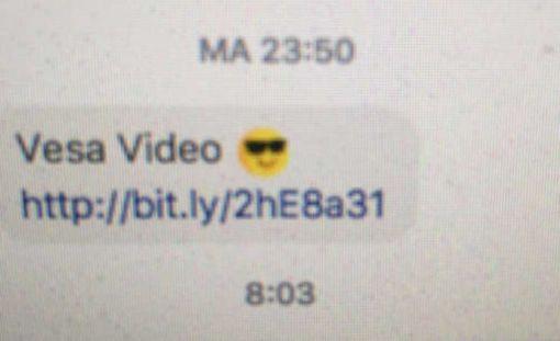 Jos avaat linkin ja saat viruksen, lähetät samanlaisen viestin ystävillesi.
