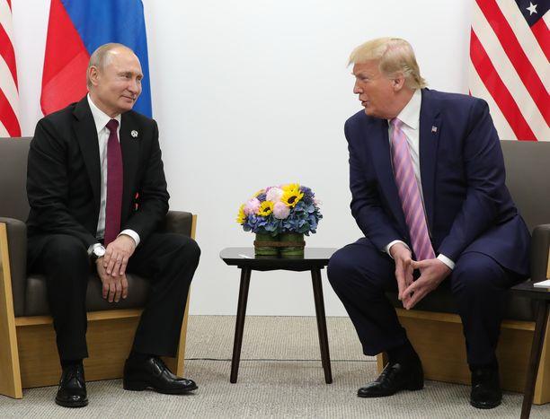 Vladimir Putin ja Donald Trump ovat tavanneet useita kertoja.
