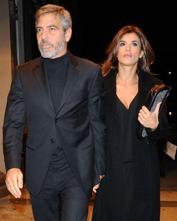 George Clooney ja Elisabetta Canalis ovat seurustelleet viime vuodesta.