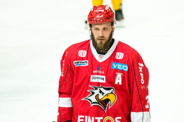Jonne Virtanen on toiminut SM-liigapelaajien äänitorvena mediassa.