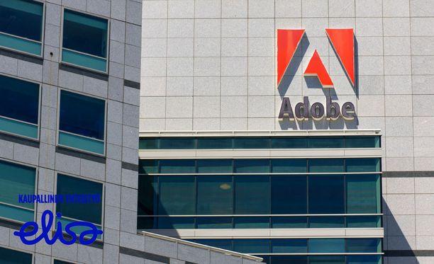 Adoben ohjelmilla luetaan muun muassa pdf-tiedostoja ja katsotaan nettivideoita.