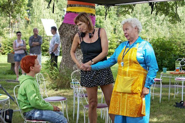 Mari Rantasila on ohjannut kaikki Risto Räppääjä-filmit.