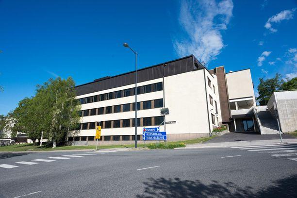 Kuvassa Turun yliopistollisen sairaalan eli Tyksin Salon sairaala.