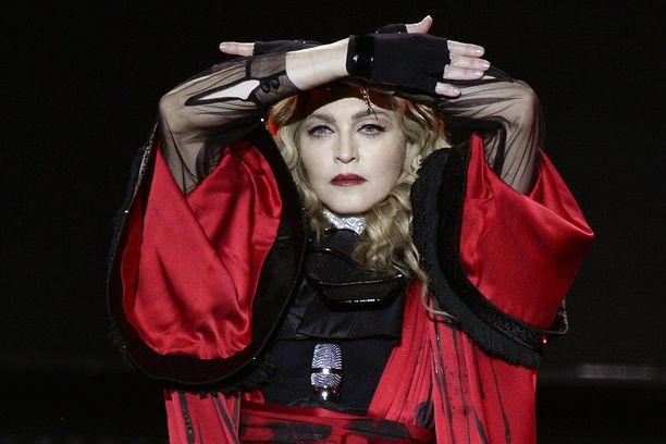 Tältä Madonna näytti vuonna 2015.