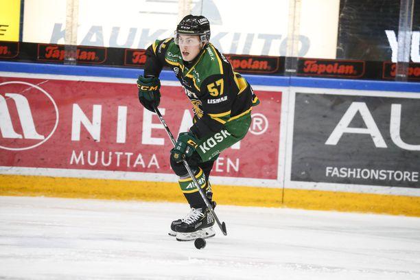 Jarkko Parikka antoi nasevan passin Ilveksen voittomaaliin.