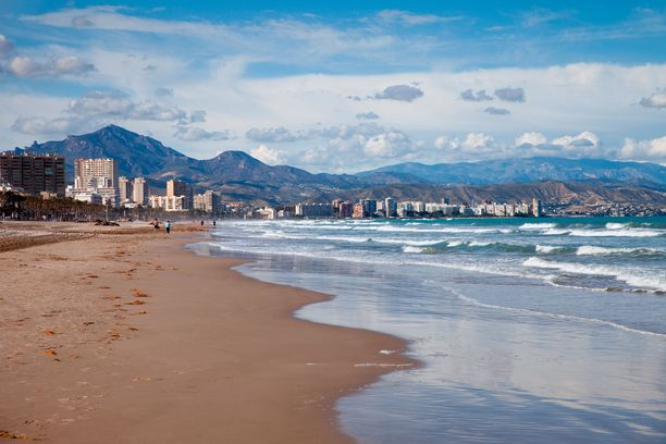 Alicanten rannoille on levinnyt ikävä vieraslaji.