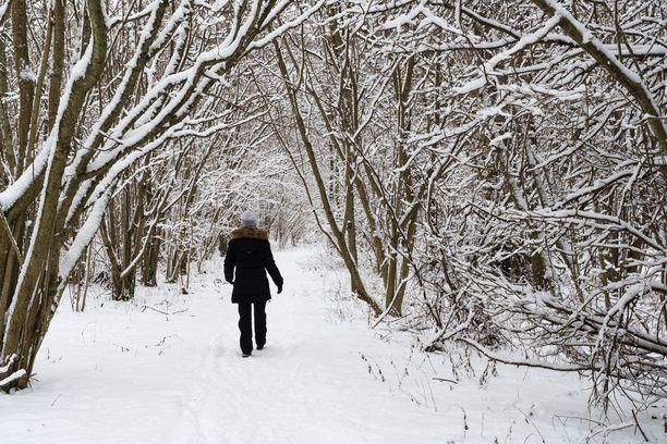 Kun on stressiä, voi lähteä luontoon kävelemään ja odottaa, että olo helpottuu.