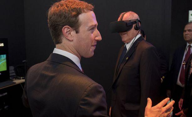 Mark Zuckerberg sanoo, ettei ole koskaan aiemmin edes kuullut Facebookin omistaman Oculus VR:n oikeuteen haastaneesta yrityksestä.
