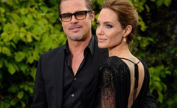 Angelina Jolie ja Brad Pitt ovat olleet yhdessä monta vuotta.