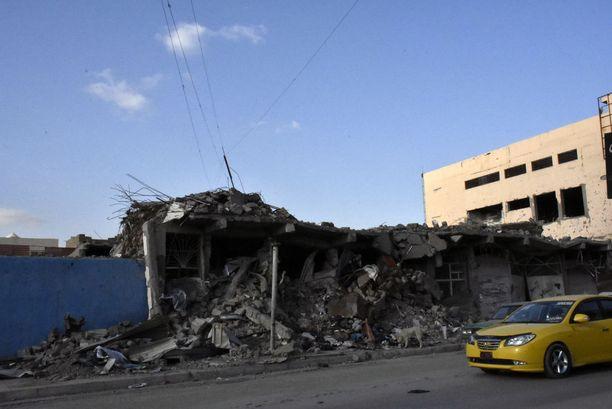 Mosulin jälleenrakentamiseen ei ole varauduttu.