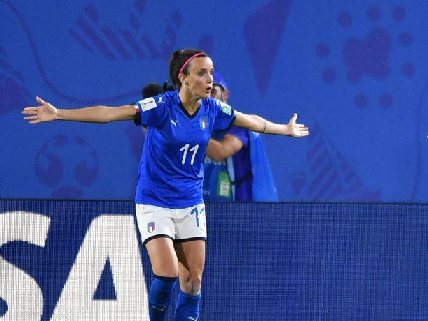 Jääkö Italialle jossiteltavaa Kiinaa vastaan?