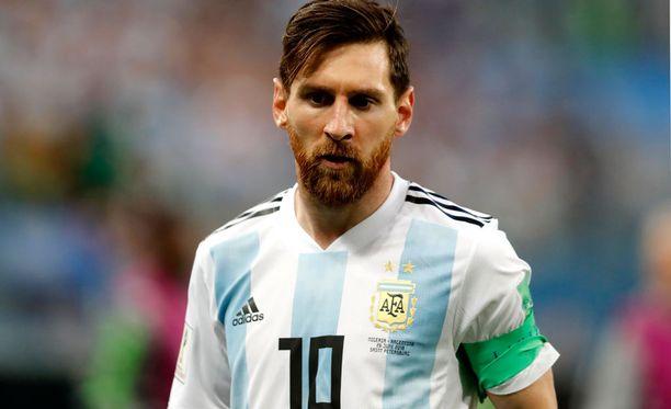 Lionel Messi pelaa maailmanmestaruudesta.