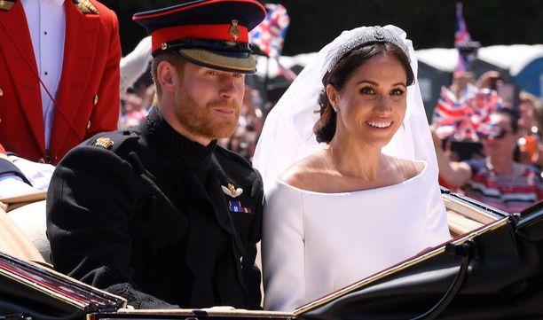 Prinssi Harry ja Meghan sanoivat eilen tahdon.