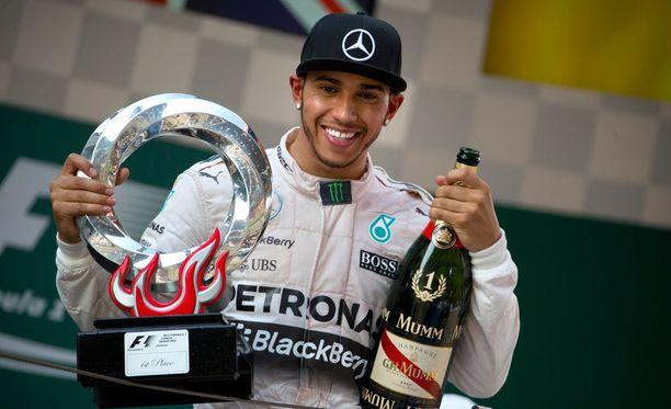 Lewis Hamiltonille kelpaa vain voitto.