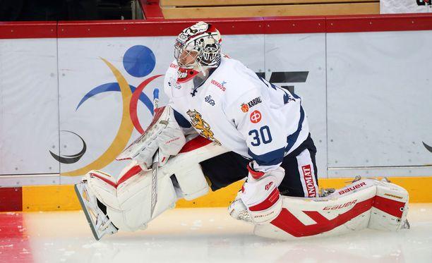 Harri Säteri hyppäsi askiin Venäjää vastaan Mikko Koskisen loukkaannuttua.
