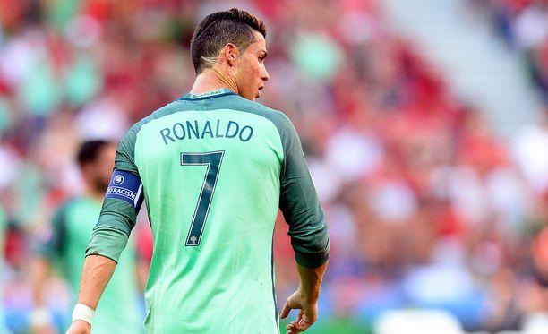 Cristiano Ronaldo osui vihdoin EM-kisoissa.
