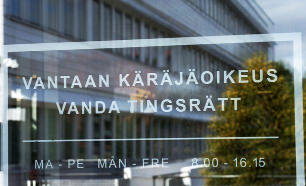 Vantaan käräjäoikeus tuomitsi miehen yhden vuoden ja viiden kuukauden ehdolliseen vankeusrangaistukseen.