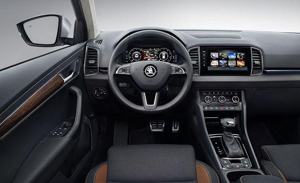 Lisävarusteena autoon voi valita digitaalisen virtuaalimittariston, jonka näkymää pystyy personoimaan.