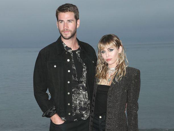 Liam Hemsworth ja Miley Cyrus ilmoittivat avioerostaan elokuussa.