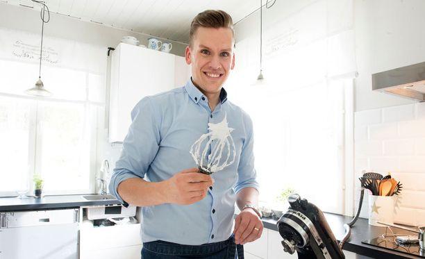 Anders Wikström rakastaa italialaista marenkia. Se sopii kaikkeen.