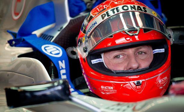 Schumacher kilpaili uransa viimeiset vuoden Mercedesin tallissa.