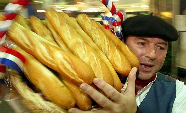 Kun kerran pitsa niin patonkikin. Ranskan presidentti vaatii patonkia YK:n kulttuuriaarteiden listalle.