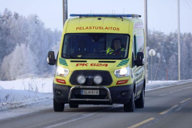 Yksi henkilö loukkaantui vakavasti Porvoon Emäsalossa. Kuvituskuva.