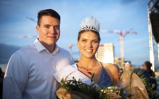 Video: Tällaiset ovat Miss Tampereen ensitunnelmat – poikaystävä muiskautti suukon onnelliselle voittajalle