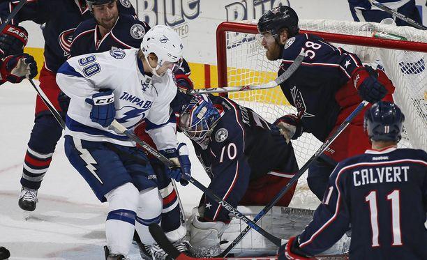 Joonas Korpisalo teki väkevän NHL-debyytin.