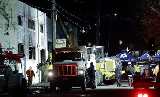 Tuhoisa palo vaati useita uhreja Kaliforniassa.