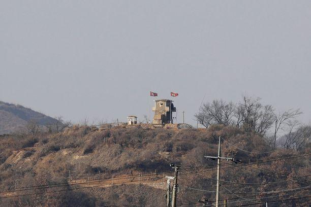 Pohjois-Koreassa asuva ainoa Venäjän kansalainen voi äänestää Venäjän lähetystössä. Kuvituskuva Pohjois-Korean raja-alueelta.