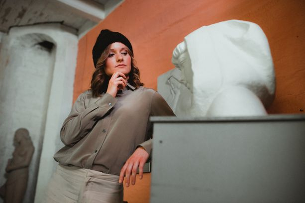 Johanna Matintalo esiintyy jälleen Myssyfarmin mainoskasvona.
