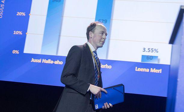 Jussi Halla-aho sanoi Iltalehdelle viikonloppuna pitävänsä yhteistyötä ruotsidemokraattien kanssa toivottavana.