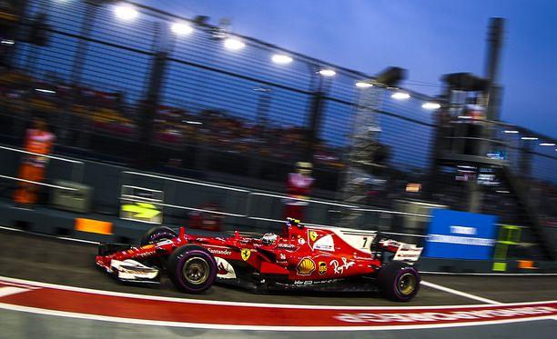 Singaporen GP:n aika-ajo käytiin lauantaina.