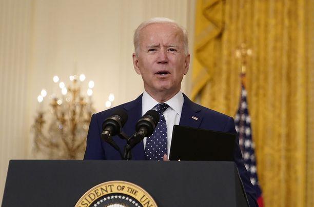 Yhdysvaltain presidentti Joe Biden kommentoi lauantaina venäläisen oppositiopoliitikko Aleksei Navalnyin tilannetta.