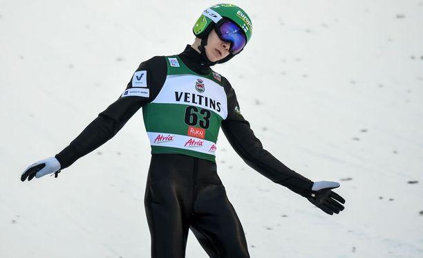 Eero Hirvonen hiihtänee Suomen ankkurina.