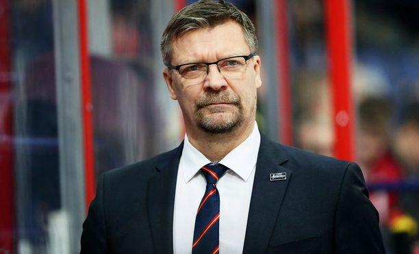 Jukka Jalonen on Leijonien tuleva päävalmentaja.
