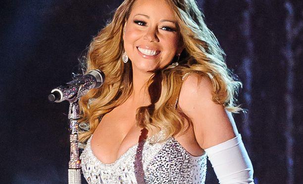 Joululauluistaankin tuttu Mariah Carey on listalla kahdeksantena.