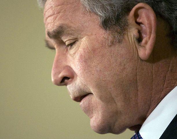 Vain 23 prosenttia amerikkalaisista jää kaipaamaan Bushia.<br>