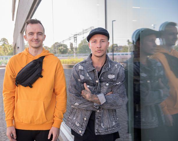 Norjalainen DJMartin Tungevaag, 26, ja ruotsalaistuottaja Robbin Söderlund, 32, ovat tuttu näky Suomessa konemusiikkifestivaaleilla.