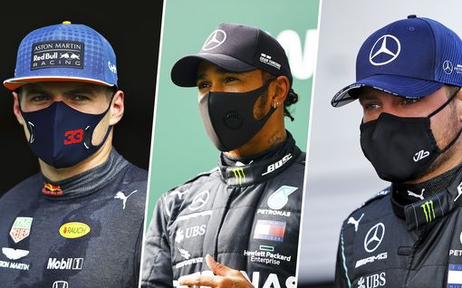 Belgian GP puhdasta Hamiltonin näytöstä – Bottas ei päässyt iskemään, Räikkönen jätti Ferrarit taakseen