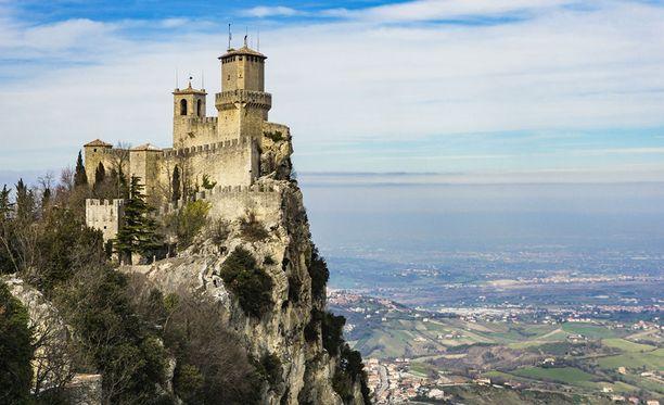 San Marinosta löytyy useita historiallisia nähtävyyksiä.